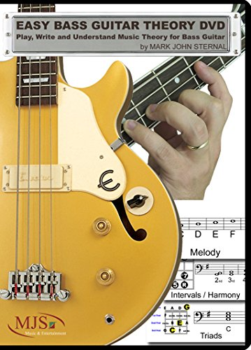 - EASY BASS GUITAR THEORY DVD - Play, Write and Understand Music Theory for Bass Guitar