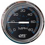 100 mph rv boat - Faria Beede Instruments Ches S/s Blk Gps Speedo 60 Mph 33749