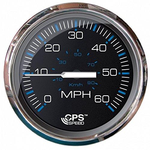 Faria Speedometer - Faria Beede Instruments Ches S/s Blk Gps Speedo 60 Mph 33749