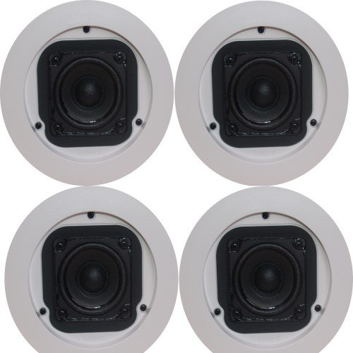 Bose Freespace 3 Flush-Mount Satellite Speakers - White / Pa