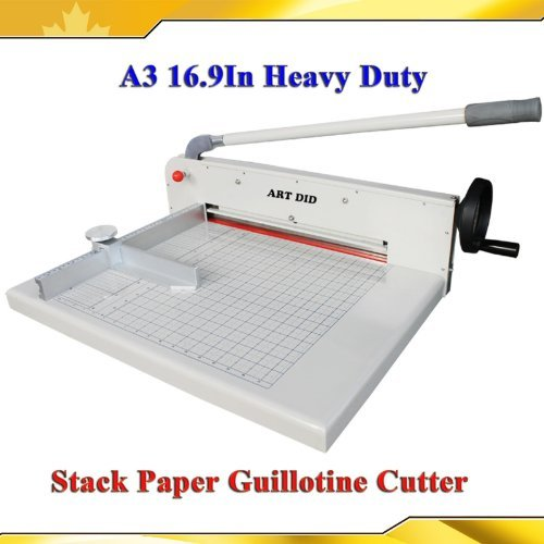 Brand New Heavy Duty All Steel 17inch A3 Stack Paper Cutter Guillotine Trimmer