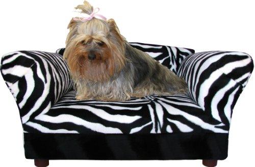 Fantasy Furniture Mini Sofa Zebra Pet bed, My Pet Supplies