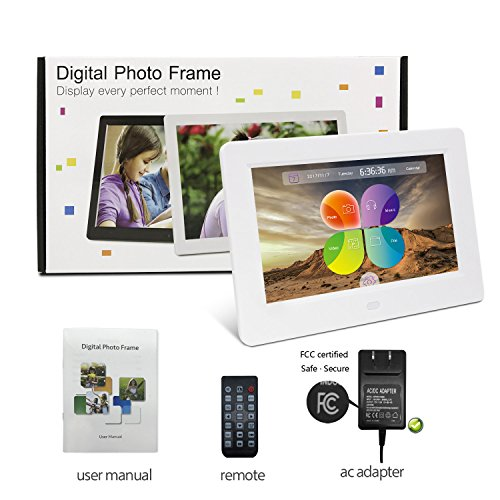 new Digital Picture Frame, YENOCK 7 Inch Digital Frame IPS Screen ...