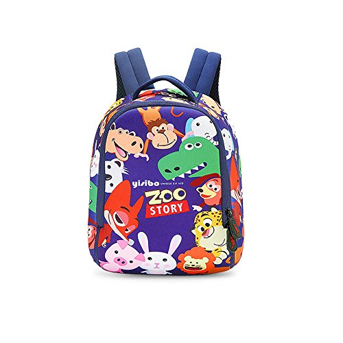 Kids Backpack YISIBO Children Toddler School Bags for 2-6 Years Old Boys Girls