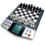 iCore Magnet Chess Sets Board Game, Electronics Travel Talking Checkers Master Pro 8 in 1, Portable Chessboard Tournament for