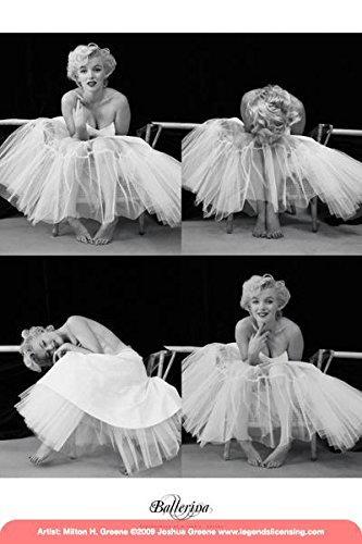 Marilyn Monroe Ballerina Sequence Hollywood Glamour Celebrity Actress Icon Photo Poster (Glamour Hollywood Costumes)