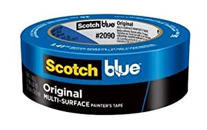 ScotchBlue Original Multi-Surface Painter's Tape,1.88 inch x 60 yard, 2090, 1 Roll