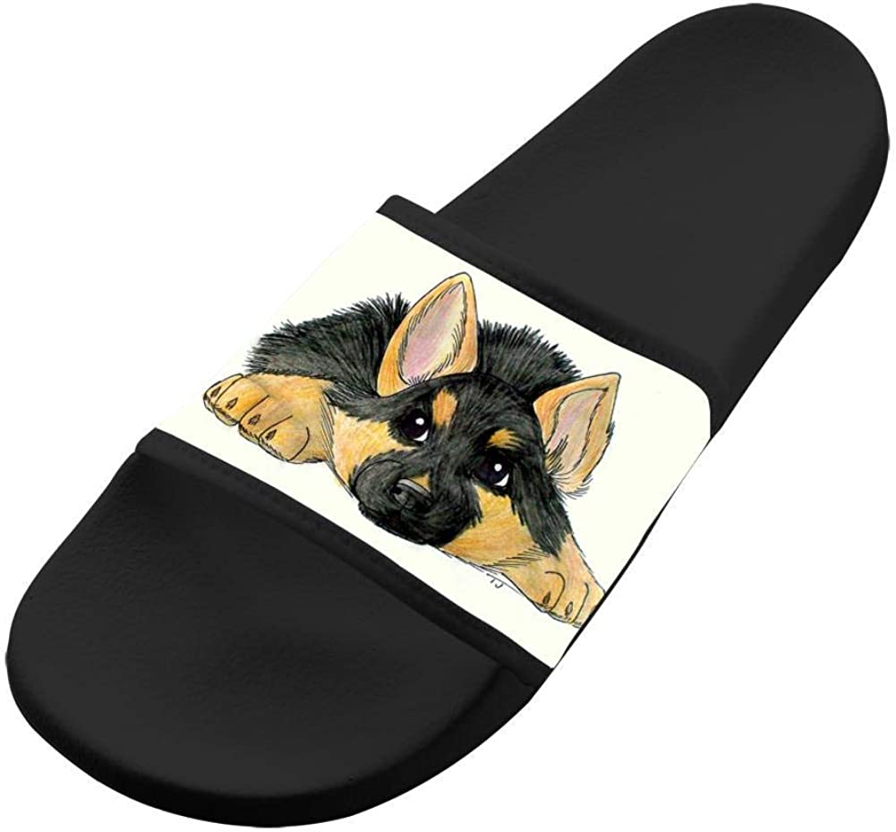 WpBenf German Shepherd Fashion Kids Sandals Outdoor Flip Flops