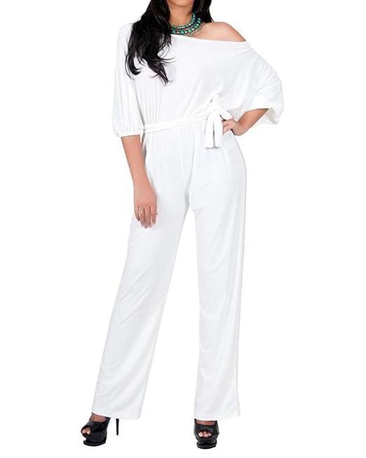 d617123f127f92 Kasen Donna Tute Jumpsuit Lunghi Tuta Eleganti Senza Spalline Taglie Forti:  Amazon.it: Abbigliamento