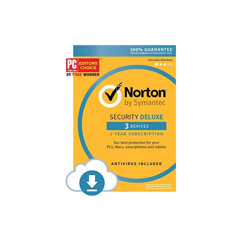 Norton Security Deluxe - 3 Devices [Down