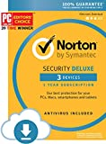 #2: Norton Security Deluxe - 3 Devices [Download Code]
