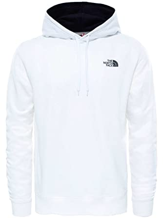 61ba63de8 THE NORTH FACE Men's Seasonal Drew Peak Light EU Pullover, TNF White ...