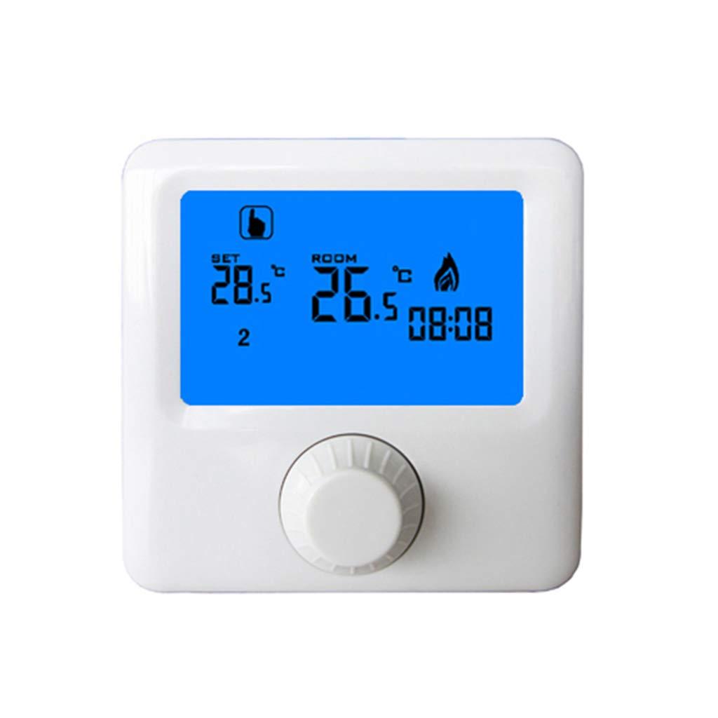 Haia7 K4 k é cran LCD suspendu au gaz chaudiè re Thermostat hebdomadaire Chauffage de piè ce programmable digital contrô leur de tempé rature Thermostat haia7k4k