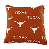 College Covers TEXODP Texas Longhorns Outdoor Decorative Pillow, 16'' x 16'', Orange