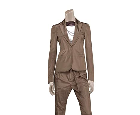 Amazon.com Gucci Women\u0027s Taffeta Top Basic Jacket Blazer