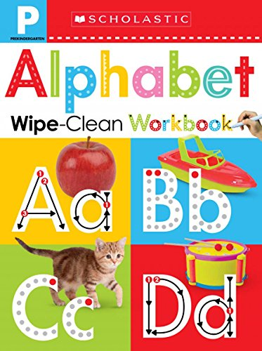 Wipe-Clean Workbook: Pre-K Alphabet (Scholastic Early -