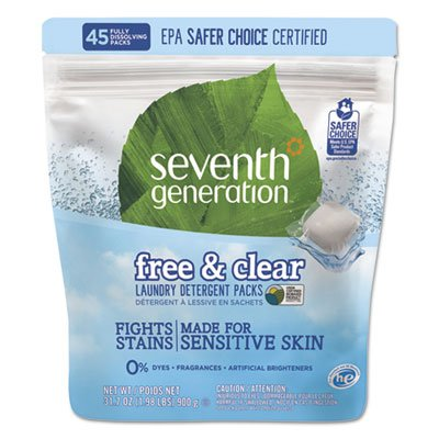 DETERGENT, PACKS , Pack of 8 by Seventh Generation