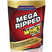 Amino Nutrition Mega Ripped Whey Protein Isolate Powder WPI (3kg, Strawberry)