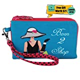 Pinaken Walking Purse Bag Organizer Pouch Travel Small and Large Holder Bag Makeup Kit Case Toiletry Bag Multi-Function Storage Bag Mobile charger Cable Pens Tech Gadgets Stationery