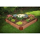 Frame It All 2-inch Series Composite Raised Garden Bed Kit – 4ft. x 4ft. x 5.5in. Review
