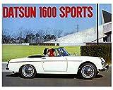 1966 1967 Datsun 1600 SPL311U Sports Roadster Automobile Photo Poster