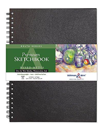 Stillman & Birn Delta Series Wirebound Sketchbook, 9
