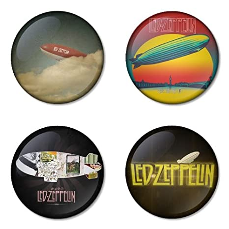 Amazon.com: LED ZEPPELIN Round Badges 1.75