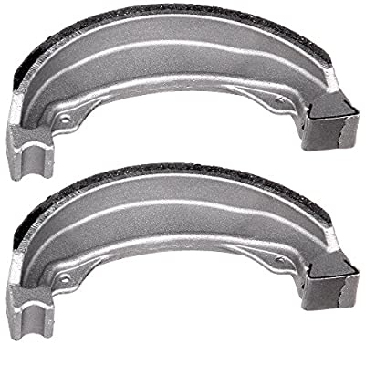 SCITOO High Performance Brake Shoes Fit 97 98 99 00 01 02 03 04 05 06 07 08 09 11 Honda Recon 250: Automotive