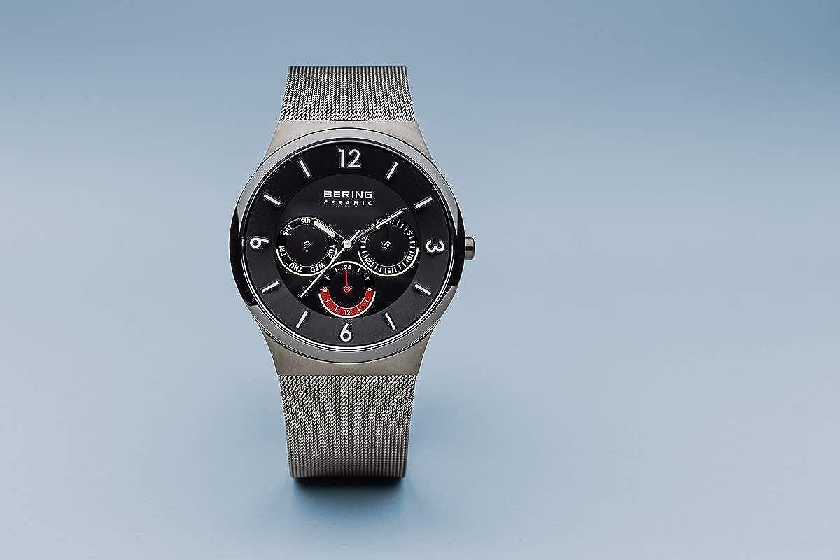 BERING Reloj Analógico para Hombre de Cuarzo con Correa en Acero Inoxidable 33440-077: Amazon.es: Relojes