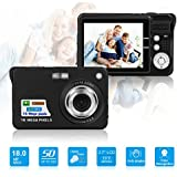 HD Mini Digital Camera with 2.7 Inch TFT LCD Display,Digital Point and Shoot Camera Video Camera-Christmas Gift (Black Mini Digital Camera)