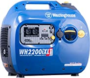 Westinghouse WH2200iXLT Super Quiet Portable Inverter Generator 1800 Rated & 2200 Peak Watts, Gas Pow