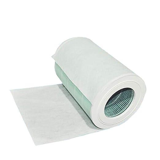 Filtro de polvo de algodón electrostático grueso para purificador ...