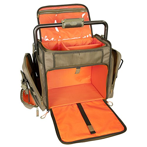 Wild River by CLC Custom Leathercraft WT3702 Tackle Tek Frontier Lighted Handle Bar Tackle Bag, Fishing Bag with Five PT3700 Trays by Custom Leathercraft (Image #5)