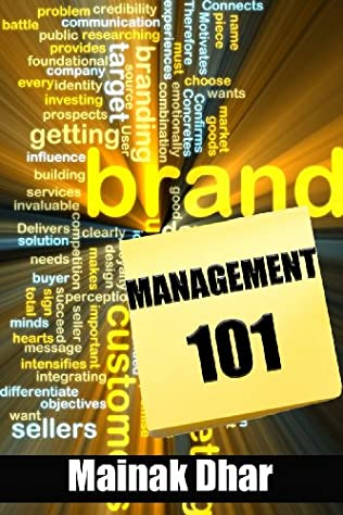 book cover of Brand Management 101