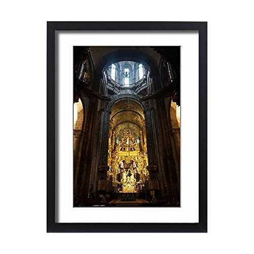 Media Storehouse Framed 24x18 Print of Altar a Nave Cathedral Santiago de Compostela, Spain (13417099) by Media Storehouse