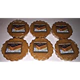 Yankee Candle Lot of 6 Salted Caramel Tarts Wax Melts