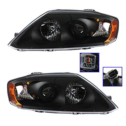 Headlight Head Lamp LH Left Driver RH Right Passenger PAIR for Hyundai Tiburon