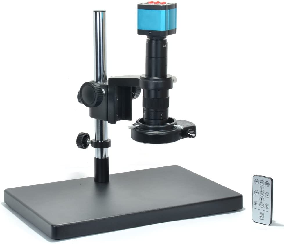 Adjustable Field Microscope Magnifier,1pack Digital HD Imaging-300X Optical Zoom USB LED Digital Camera + 4XDigital FANBEAR 1920x1080P Resolution Microscope