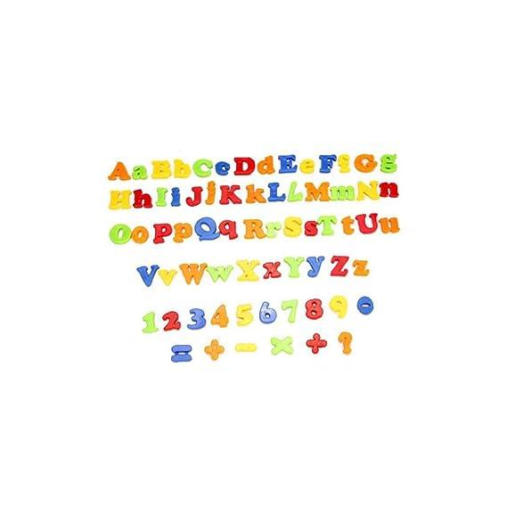 veklblan 78 Piezas del Alfabeto Número Carta Imanes Nevera Niños ...