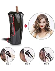 iGutech Automatic hair curler with Tourmaline ceramic heater and LED digital display