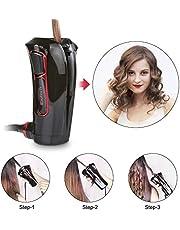 iGutech Automatischer Curler mit intelligentem Smart Sensor, im neuen und sehr handlichen Design schwarz