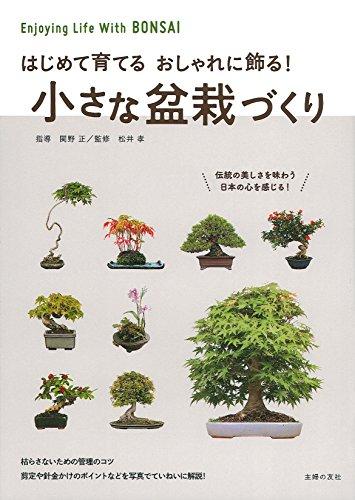 小さな盆栽づくり―はじめて育てる おしゃれに飾る!