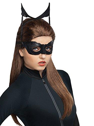Secret Wishes Batman Dark Knight Rises Catwoman Wig, Black, One Size ()