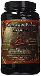 Healthforce Warrior Food Extreme Chocolate Plus V2.0 Powder, 35.2 Ounce