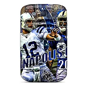 New Fashion Premium Tpu Case Cover For Galaxy S3 - Indianapolis Colts