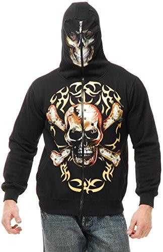 Boy's Skull and Crossbones Hoodie -