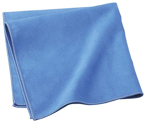 Suede Microfiber Clean - Extra Large (16x16inch) thick soft suede microfiber glasses cleaning cloth Super-Clean-DX Blue ( For Glass, Camera Lenses, Phones, Tablets, Screens, car wash and Other Delicate Surfaces)
