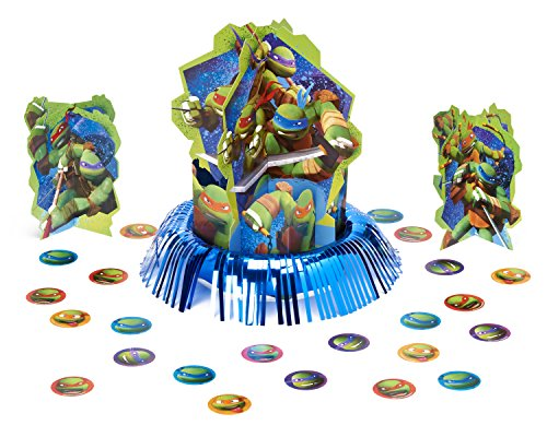 American Greetings Teenage Mutant Ninja Turtles Party Supplies Table Decorations Kit, 23-Count -
