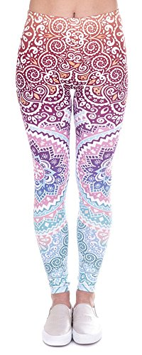 Ndoobiy Digital Printed Full Length Leggings