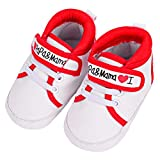 PENGYGY Baby Boys Girls Shoes Canvas Toddler Sneakers Anti-Slip Infant First Walkers 0-18 Months